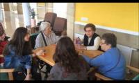 Ikastolako DBH4ko ikasleak Iurramendin izan dira Mano Viva proiketuaren barne.