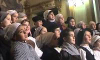 Laskorain ikastolako abesbatzak GABONETAKO KONTZERTUA eskaini ziguten 2014ko abenduaren 22an, Sakramentinoetako elizan.