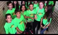 2015eko Kilometroak egunean ospatuko den Erronka lehiaketan parte hartuko duten Laskoraingo taldea.